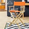 Casual Home Folding Director Chair Solid Wood in Orange/Yellow/Brown, Size 39.5 H x 23.0 W x 19.0 D in   Wayfair CHFL1214 33417951
