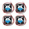 WINSINN 40mm Fan 24V Dual Ball Bearing Brushless 4020 40x20mm Cooling - High Speed (Pack of 4Pcs)