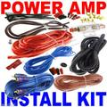 8 Gauge Amp Kit Amplifier Install Wiring Complete 8 Ga Installation Cables 1500W