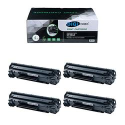 TonerPlusUSA Compatible Toner Cartridge Replacement for HP CF283A (Black)