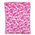 Elegant Home Kids Soft & Warm Pink Unicorn Sherpa Baby Toddler Girl Blanket Printed Borrego Stroller or Baby Crib or Toddler Bed Blanket Plush Throw 40X50 (Pink Unicorn)