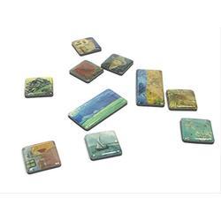 Vincent Van Gogh Glass Mini magnet set