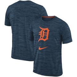 Men's Nike Navy Detroit Tigers Velocity Performance T-Shirt