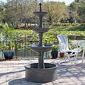 "Palace 70"" High Tiered Outdoor Courtyard Garden Fountain"