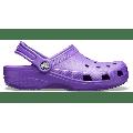 Crocs Neon Purple Classic Clog Shoes