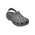 Crocs Slate Grey Kids' Classic Clog Shoes