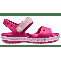 Crocs Candy Pink Kids' Bayaband Sandal Shoes
