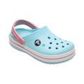 Crocs Ice Blue/White Kids' Crocband™ Clog Shoes