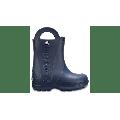Crocs Navy Kids' Handle It Rain Boot Shoes