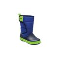 Crocs Blue Jean/Navy Kids' Lodgepoint Snow Boot Shoes