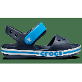 Crocs Navy Kids' Bayaband Sandal Shoes