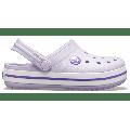 Crocs Lavender/Neon Purple Kids' Crocband™ Clog Shoes