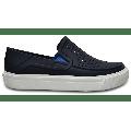 Crocs Navy Kids' Citilane Roka Slip-On Shoes