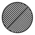 "BBQration 18 3/16"" Big Green Egg Grate Large CIF999A Matte Cast Iron Cooking Grid Grates Replacement Parts for Big Green Egg Large, Kamado Charcoal, Vision Grill VGKSS-CC2, B-11N1A1-Y2A"