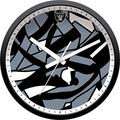 Imperial Offically Licensed NFL Merchandise: Modern Clock, Oakland Raiders