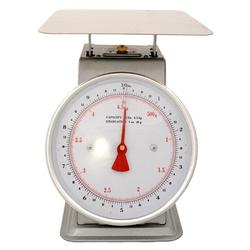 Zenport Platform Stainless Mechanical Kitchen Scale Stainless Steel in Gray, Size 10.0 H x 9.0 W in | Wayfair AZD10