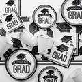 Creative Converting Graduation School Spirit Paper/Plastic Disposable Party Supplies Kit Paper/Plastic in White   Wayfair DTCBKWHT2G