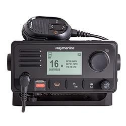 Raymarine E70517, Ray73 Marine VHF Radio with Hailer and GPS, Black, Small
