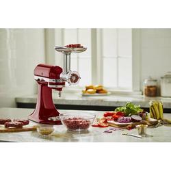 KitchenAid Metal Food Grinder Attachment, Size 8.4 H x 5.5 W x 8.8 D in   Wayfair KSMMGA
