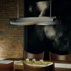 """Hubbardton Forge 139727-LED-STND Landscape Single Light 37"""" Wide LED Linear Chandelier - Standard"""