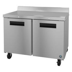"Hoshizaki WR48A-01 SteelHeart 48"" Worktop Refrigerator w/ (2) Section, 115v"