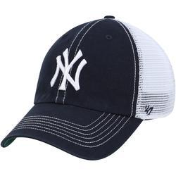Men's '47 Navy New York Yankees Trawler Clean Up Trucker Hat