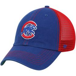 """""""Men's '47 Royal/Red Chicago Cubs Trawler Clean Up Trucker Hat"""""""
