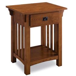 Leick Home Mission Impeccable Nightstand, Multicolor