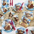 Creative Converting Treasure Island Pirate Birthday Party Supplies Kit GuestsPaper/Plastic in Blue/Brown   Wayfair DTC4563E2A