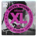 D'Addario EXL120 Nickel Wound Electric Strings - .009-.042 Super Light 10-Pack