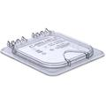 Carlisle Food Service Products Rectangle Plastic Food Storage Container w/ Lid Plastic, Size 1.1 H x 6.31 W x 6.88 D in | Wayfair 10318Z07