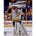 "Marc-Andre Fleury Pittsburgh Penguins 2017 Stanley Cup Champions Autographed 8"" x 10"" Raising Photograph"