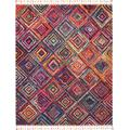 Nomad 8' x 11' Red Tribal Area Rug - Nourison NMD01