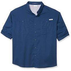 Columbia Men's PFG Tamiami II Long Sleeve Shirt , Carbon, Large