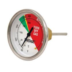 Bayou Classic® Dial ThermometerStainless Steel in Gray/Yellow, Size 4.0 H in   Wayfair 5070