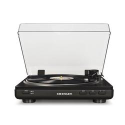 Crosley Electronics Decorative Record Player in Gray, Size 4.5 H x 14.5 W x 14.0 D in | Wayfair T400A-GY