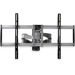 "StarTech.com Full Motion TV Wall Mount - Heavy Duty Articulating TV Wall Mount Bracket for 32"" to 75"" (165lb/75kg) VESA Display - Universal Adjustable Tilt/Swivel Flat Screen Arm - Silver (FPWARPS)"