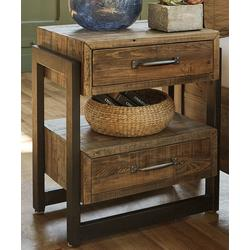 Signature Design by Ashley Furniture Nightstands Brown - Brown Sommerford Nightstand