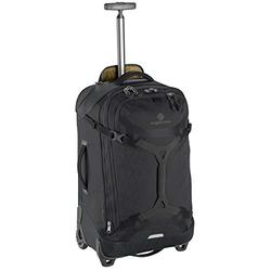Eagle Creek Gear Warrior Carry On Luggage-Softside 2-Wheel Rolling Suitcase, Jet Black, One Size