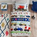 Zoomie Kids Rendon Toddler Bedding SetPolyester in Blue/Navy | Wayfair 42C9552F2CE74202A97E686C81133A4D