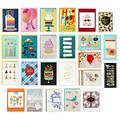 Hallmark Pack of 24 Handmade Assorted Boxed Greeting Cards, Modern Floral—Birthday Cards, Baby Shower Cards, Wedding Cards, Sympathy Cards, Thinking of You Cards, Thank You Cards