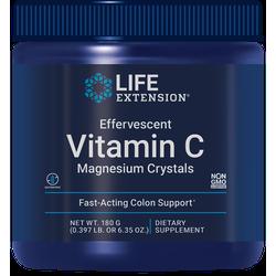 Effervescent Vitamin C Magnesium Crystals, 180 grams