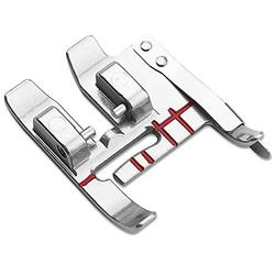 DREAMSTITCH 820772096 Snap On Seam Guide Presser Foot for PFAFF Sewing Machines with IDT System - 820772096