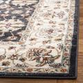 Lyndhurst Collection 8' X 10' Rug in Light Beige And Anthracite - Safavieh LNH340K-810