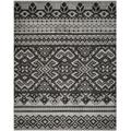 Adirondack Collection 4' X 6' Rug in Silver And Charcoal - Safavieh ADR106P-4