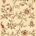 """""""Lyndhurst Collection 2'-3"""""""" X 12' Rug in Black And Ivory - Safavieh LNH553-9012-212"""""""