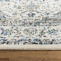 """""""Evoke Collection 2'-2"""""""" X 21' Rug in Ivory And Blue - Safavieh EVK220C-221"""""""