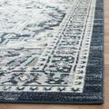 Madison Collection 4' X 6' Rug in Navy And Creme - Safavieh MAD612D-4