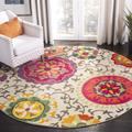 """""""Monaco Collection 2'-2"""""""" X 8' Rug in Red And Blue - Safavieh MNC265Q-28"""""""