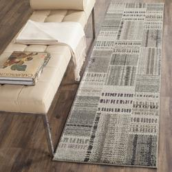 """""""Monaco Collection 5'-1"""""""" X 7'-7"""""""" Rug in Forest Green And Light Blue - Safavieh MNC243F-5"""""""